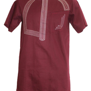 Maroon Fitted Shirt