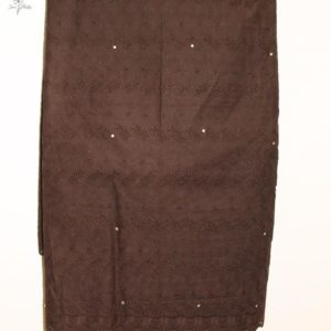 Coffee Brown Dry Lace